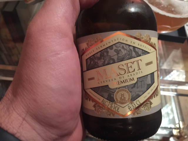 cerveza artesanal maset