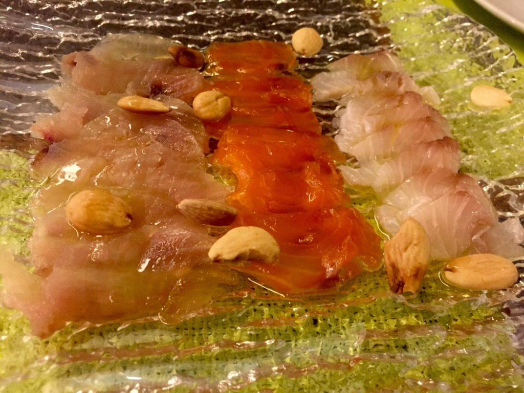 salazón de pescados azul