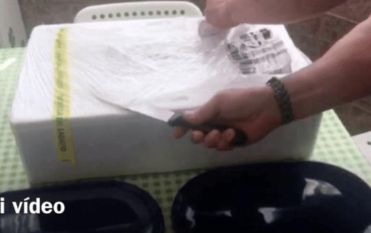 unboxing de productos del mar a tu mesa