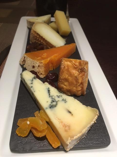 Tabla de quesos Irlanda-Italia-Francia y Reino Unido