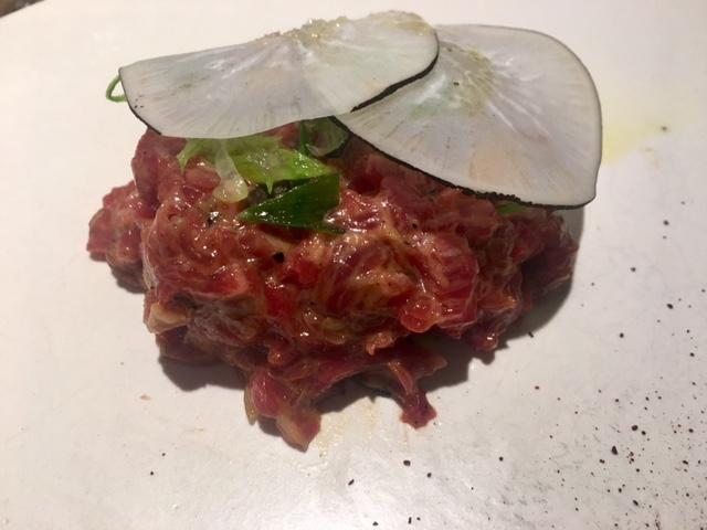 Steak Tartare de Vaca y especias Cajún