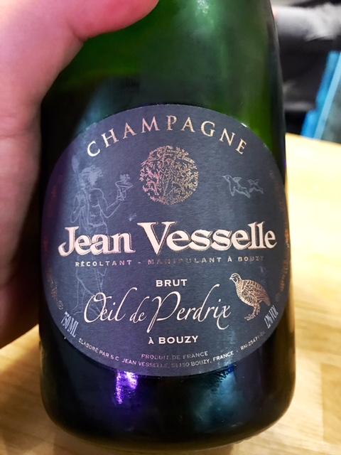 Champagne Jean Veselle Brut Oeil de Perdrix