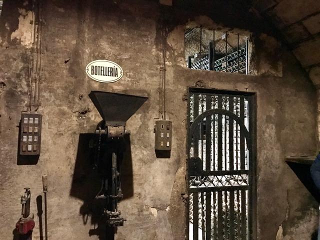 Botellería, la Caja Fuerte de la Bodega