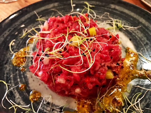 Steak Tartare con Guindillas de Ibarra