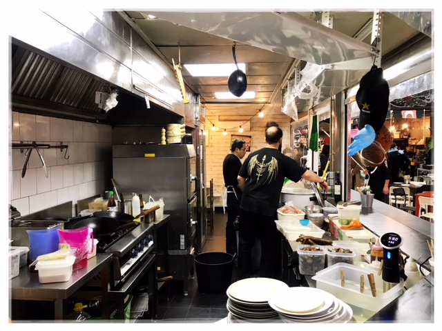 El Infierno puede esperar. Kitchen 154