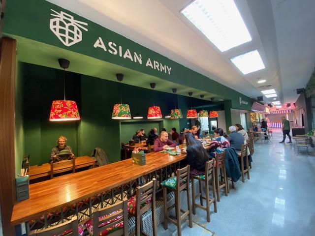 Un viaje fascinante. ASIAN ARMY